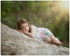 MN child photographer Fairy portrait