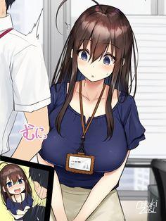 Embarrassed [original] : OriginalMoe Anime Sexy, Anime Sensual, Anime Henti, Anime Girl Hot, Manga Anime Girl, Kawaii Anime Girl, Otaku Anime, Cute Manga Girl, Anime Comics