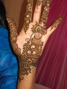 Pakistani Mehndi Designs | Simple-Pakistani-Mehndi-Designs-2013- (13)