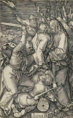 Albrecht Durer (1471-1528) The Betrayal Of Christ 1508 (115 x 740 mm)