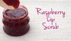Raspberry Lip Scrub - Lippenpeeling Himbeer
