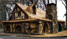 Hobbit House, Matamata, New Zealand