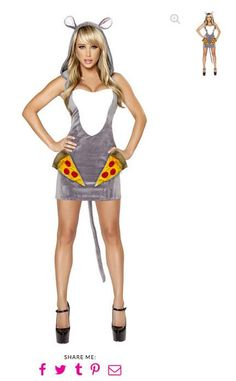 "Remember Pizza Rat? Somebody made a ""sexy"" Halloween costume for it"