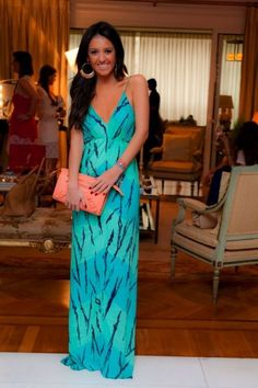maxi dress What to Wear on a Cruise