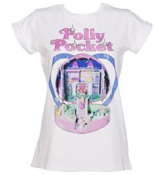 Launched in 1989 by Mattel, the miniature doll Polly and her miniature world made their way to the top of little girls\' wish lists everywhere! Now you can reminisce about this childhood favourite with a super cute tee!