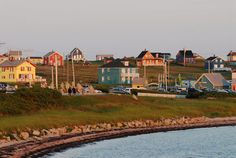 Cap aux Meules Island, îles de la Madeleine, Québec.