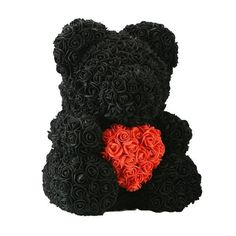 WR Teddy Rose Bear /w Heart 2019 Valentine Birthday Gifts For Her Many Color Home Wedding Decorations, Festival Decorations, Bear Valentines, Valentine Day Gifts, Real Flowers, Artificial Flowers, Dried Flowers, Teddy Bear With Heart, Flower Model
