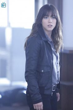 Another picture of the way I'm cutting my hair. If you couldn't tell, I'm taking inspiration from Chloe Bennet's bangs.