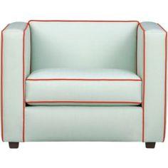 Club Piping Chair by cb2: http://tinyurl.com/18r #Chair #cb2