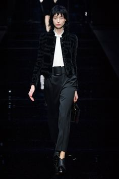 Emporio Armani at Milan Fall 2015