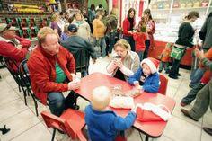 Attention Hot Chocolate Aficionados! Hot chocolate in Santa Claus, Indiana.