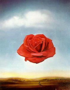 Salvador Dalì - Meditative Rose (1958)