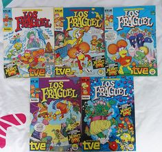 Vintage Fraggle Rock comics / Tebeos 'Los Fraguel' | by misstaito