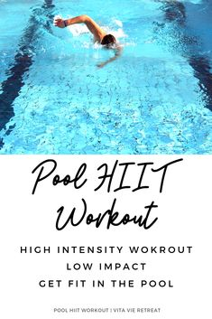 HIIT training can be hard and exhausting, particularly for beginners who are not yet prepared to utilize their body's maximum potential during their exercise sessions. Water Aerobics Workout, Pool Workout, Water Workouts, Water Aerobic Exercises, Water Aerobics Routine, Rower Workout, Swim Workouts, Cycling Workout, Boxing Workout