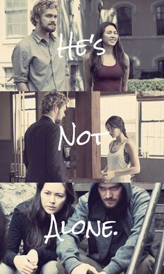 Danny and Colleen from Iron Fist aka IronWing Netflix Marvel Shows, Marvel Dc Movies, Marvel Series, Marvel Characters, Iron Fist Tv Series, Loki Marvel, Avengers, Luke Cage Jessica Jones, Jessica Henwick