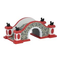 Department 56 Disney Village Mickey's Bridge Accessory, * Huge price off! : Collectible Figurines for Christmas Disney Christmas Village, Christmas Village Display, Mickey Christmas, Christmas Town, Christmas Villages, Christmas Lights, Christmas Holidays, Christmas Decorations, Holiday Decorating