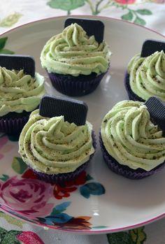 Choc Mint Cupcakes by Cakeability.  Vegan.