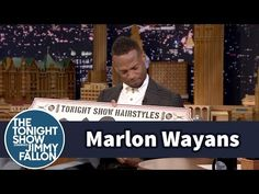 The Tonight Show Starring Jimmy Fallon: Jimmy Gives Marlon Wayans His Own Tonight Show Hairstyles Sign