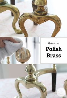 How to Polish Brass - great tips! Works for copper too!