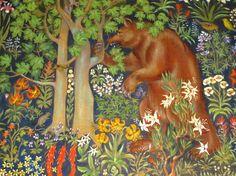 ahwahnee lodge mural - Google Search