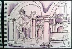 Claustro do Mosteiro do lorvão