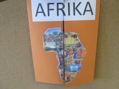 Another Africa group produced a lapbook, an action folder with collected works from the diverse project with the main focus on geography. Geography Activities, Geography For Kids, Maps For Kids, Preschool Activities, Paper Art, Paper Crafts, Play To Learn, Social Studies, Kindergarten