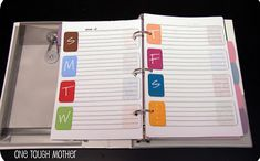 Make your own mini personal binder