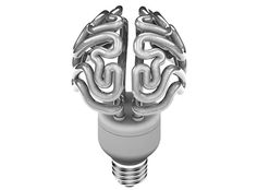 Truffol.com | Energy efficient brain shaped Bulb... #fun #lol #tech #gadgets