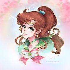 Eternal Sailor Jupiter by Channel-Square.deviantart.com on @DeviantArt