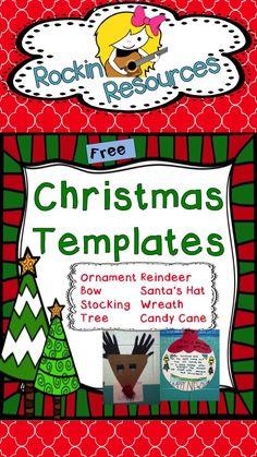 Free Christmas Templates!!!