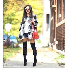 Black thing high boots a must this season! ...... @liketoknow.it www.liketk.it/1Vdqo #liketkit