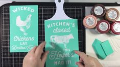 Chalk Couture - Wicked Chickens on Plastic Chalk Crafts, Chalk Paint Projects, Diy And Crafts, Summer Crafts, Chalk Ink, Chalk It Up, Chalk Board, Chalk Design, Sign Design