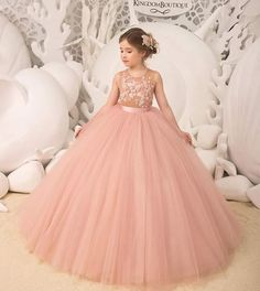 Untitled Cheap Flower Girl Dresses, Wedding Dresses With Flowers, Girls Pageant Dresses, Homecoming Dresses, Pretty Dresses, Princess Dresses, Baby Girl Birthday Dress, Birthday Dresses, Baby Frocks Party Wear