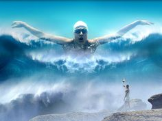 Olympic Swimmer HD Wallpaper 2012