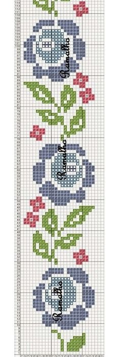 This post was discovered by GÖ Cross Stitch Bookmarks, Cross Stitch Borders, Cross Stitch Flowers, Cross Stitch Charts, Cross Stitch Designs, Cross Stitching, Cross Stitch Embroidery, Embroidery Patterns, Cross Stitch Patterns