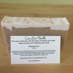 Coco Loco Vanilla Paraben Free, Handmade Soaps, Seed Oil, Soap Making, Shea Butter, Moisturizer, Vegan Recipes, Vanilla, Artisan