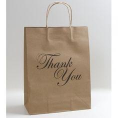 £0.85 Thank You Gift Bag