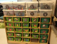 How to handle math centers and manipulatives