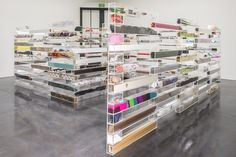 Artist Creates a Large Maze of Plexiglass Boxes Containing a Hodgepodge of Found Objects - See more at: http://www.junk-culture.com/2013/08/artist-creates-large-maze-of-plexiglass.html#sthash.fvDejvKk.dpuf