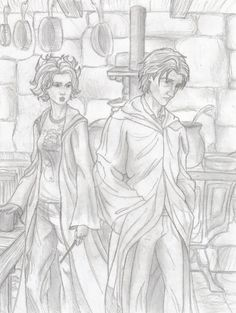 A Million Times by philotic-net.deviantart.com - Tonks and Remus, Grimmauld Place