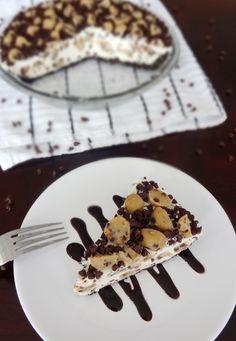 Chocolate Chip Cookie Dough Ice Cream Pie