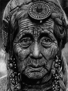 portrait pencil drawing by bombasoldier
