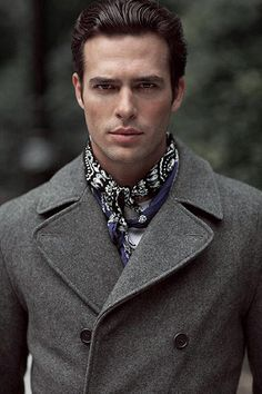 Coat and scarf. Fresh fashion inspiration daily, follow http://pinterest.com/pmartinza