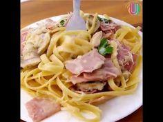 Sáltate un paso, ¡y cocina tu pasta directamente en la salsa! RECETA: Ingredientes: - 150g de jamón picado - 400ml de caldo de pollo - 225g de pasta seca - 2...