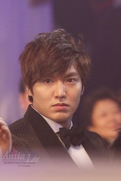 Lee Min Ho's serious face