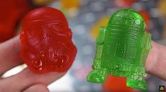 How to make #StarWars gummy candies using melted gummy bears | Food Diggity