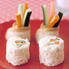 Sandwich Sushi and more on MarthaStewart.com