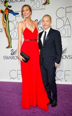 Karlie Kloss and Jason Wu at the 2011 CFDAs - Dreaming about that dress!