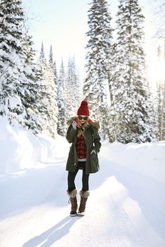 CHAMPAGNE & SNOW // #CLICQUOTINTHESNOW