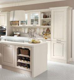 La cucina in stile Shabby Chic - Cucine Lube | Idee per la casa ...